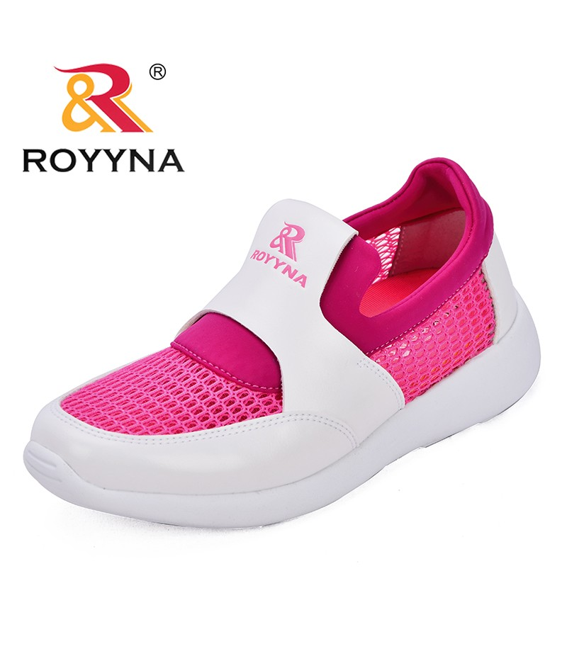 ROYYNA New Popular Style Women Sneakers Shoes Microfiber Feminimo Summer Shoes Mesh Lady Flats Comfortable Fast Free Shipping