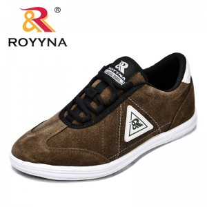 ROYYNA New Fashion Style Women Sneakers Shoes Cow Suede Feminimo Casual Shoes EVA Outsole Lady Flats Comfortable Free Shipping