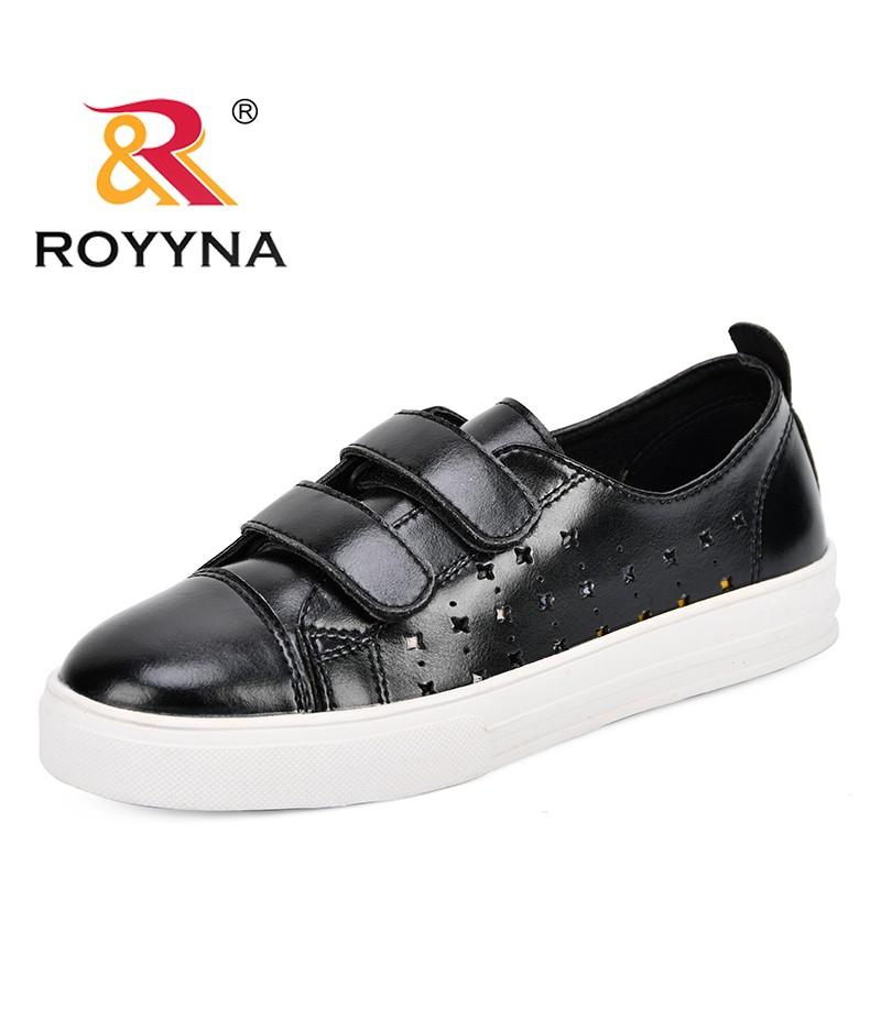 ROYYNA Women Sneakers 2018 Fashion Breathble Vulcanized Shoes Women Microfiber Platform Shoes Women Lace Up Casual Shoes