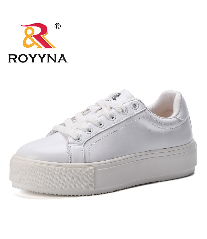 ROYYNA New Style Women Breathable Tenis Feminino Lace Up Outdoor Casual Shoes Lightweight Woman Vulcanized Sneakers Women Shoes