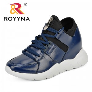 ROYYNA 2018 Autumn Women New Sneakers Soft Comfortable Casual Shoes Fashion Lady Flats Female Shoes For Students Trendy Comfy