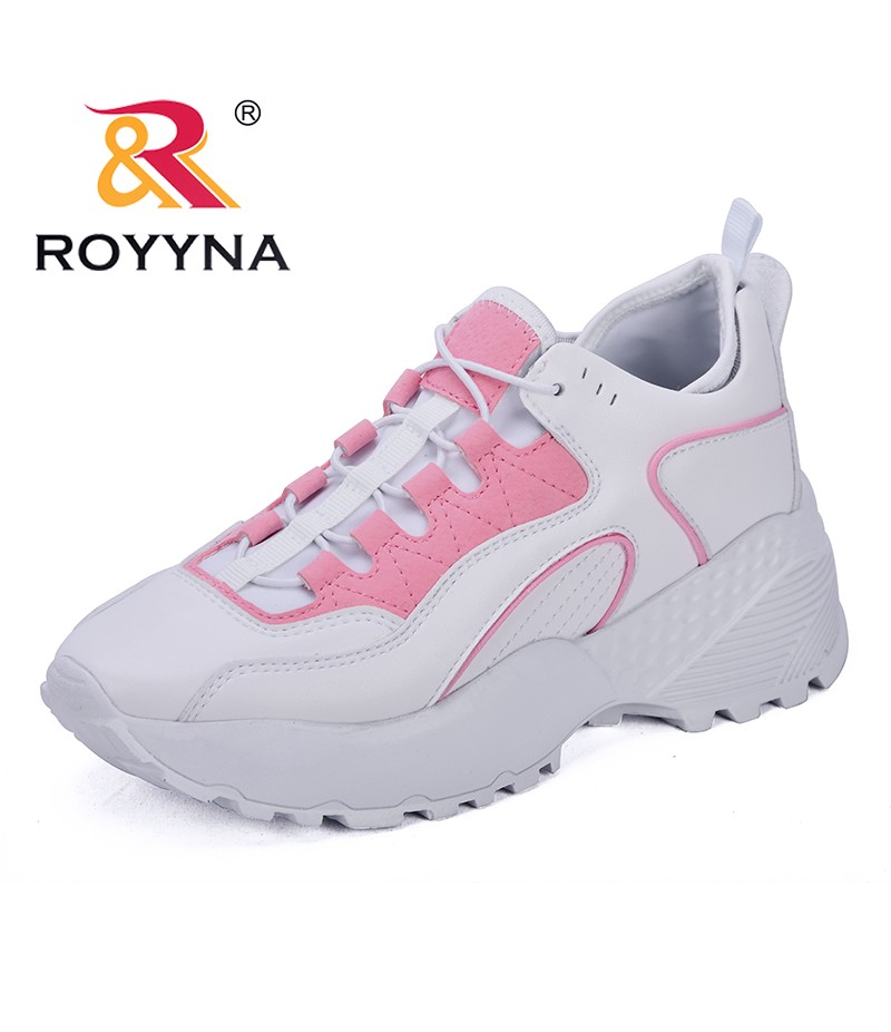 ROYYNA New Popular Style Women Vulcanize Shoes Microfiber Sneakers Shoes Mixed Color Casual Shoes Comfortable Free Shipping