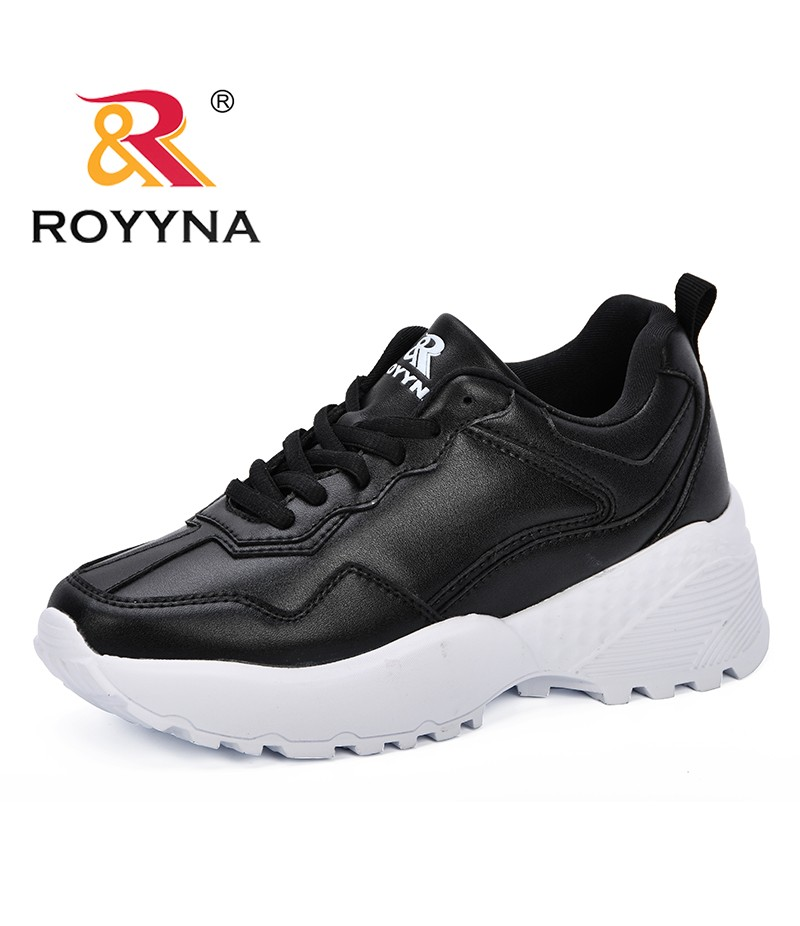 bfcce95d52f ROYYNA 2018 Autumn Women Casual Shoes Comfortable Platform Shoes Woman  Sneakers Ladies Trainers Chaussure Femme New Designer