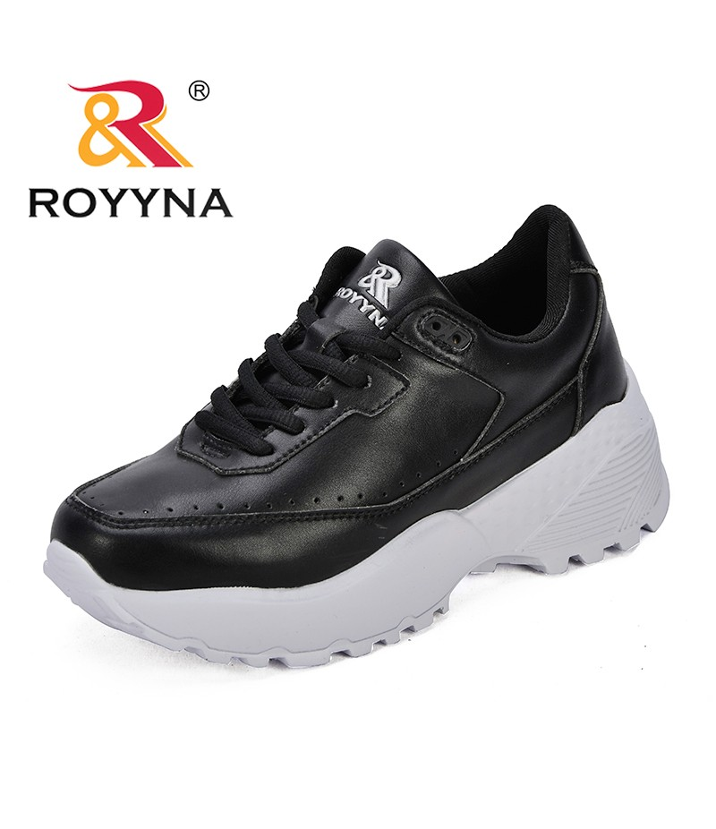 ROYYNA New Fashion Style Women Sneakers Shoes Lace Up Female Leisure Shoes Lace Up Lady Flats Comfortable Fast Free Shipping