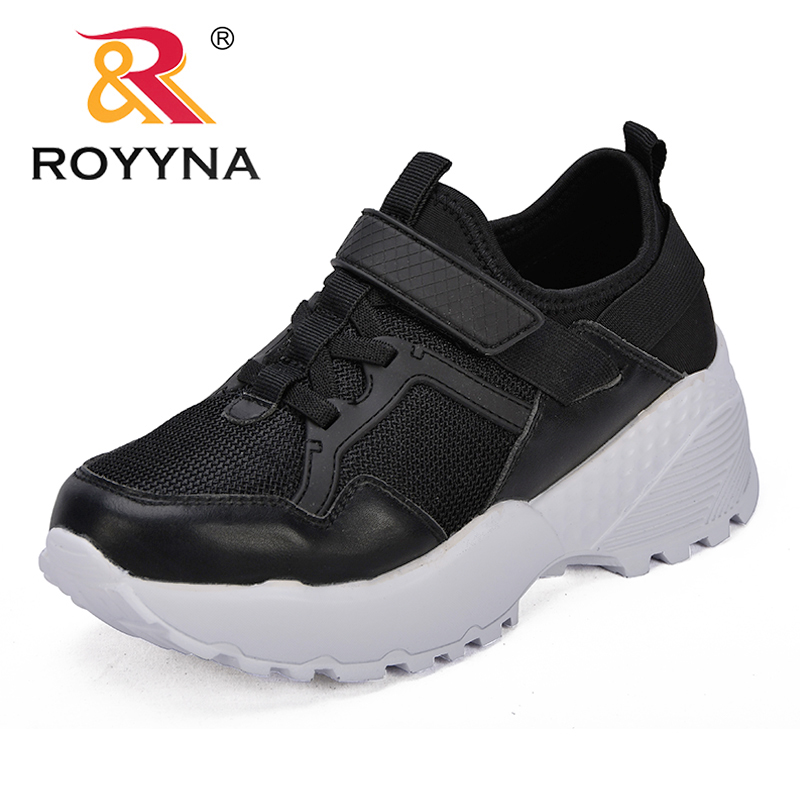 ROYYNA New Arrival Classics Style Women Sneakers Shoes Outdoor Feminimo Casual Shoes Microfiber Lady Flats Fast Free Shipping