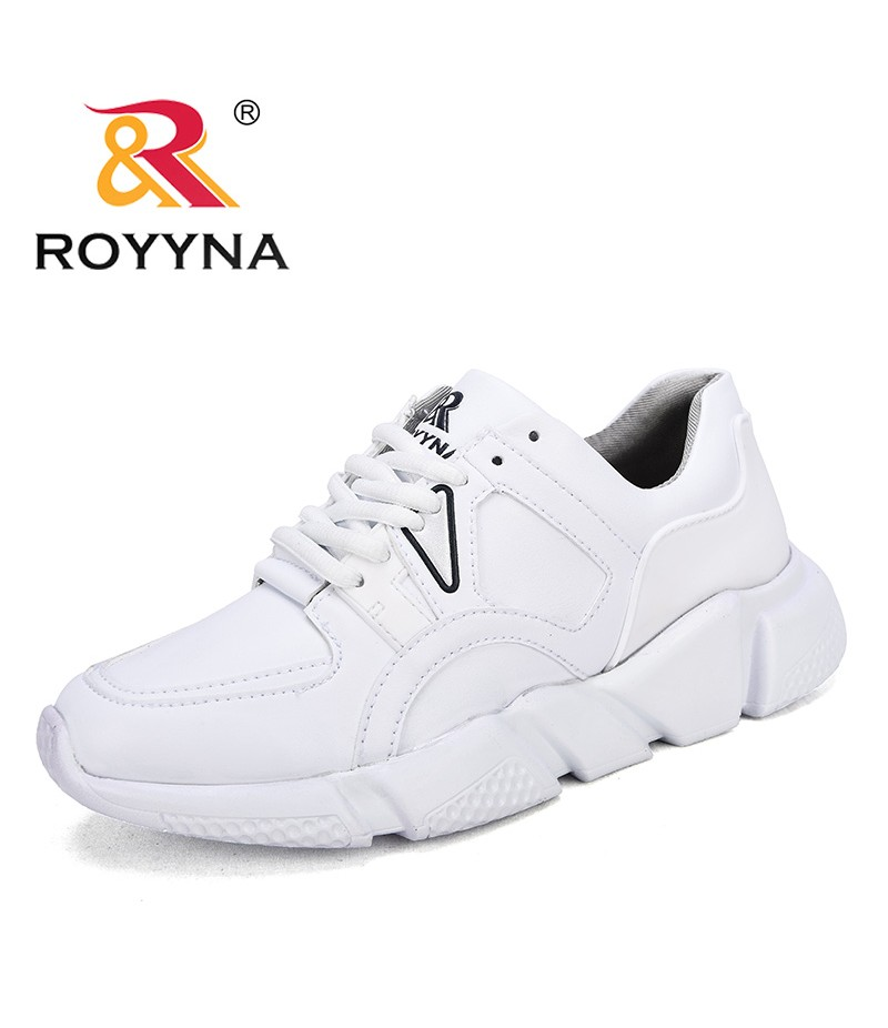 ROYYNA New Classics Style Women Sneakers Shoes Microfiber Female Casual Shoes LaceUp Lady Flats Comfortable Fast Free Shipping
