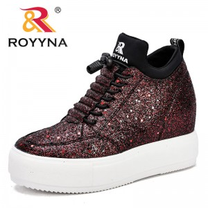 ROYYNA New Fashion Style Women Sneakers Shoes Flat Platform Female Casual Shoes Comfortable Flats Light Soft Fast Free Shipping