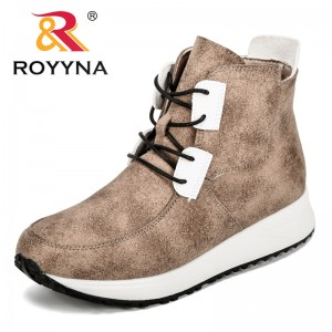 ROYYNA 2018 Autumn High Top Fashion Sneakers Women Breathable High Upper Shoes Tenis Feminino Casual Shoes Women Free Shipping