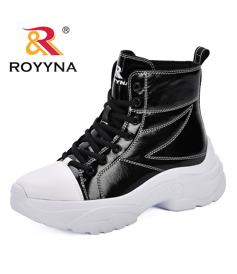 ROYYNA Martin Boots 2019 Autumn Winter Women Boots Classic Shoes Ankle Boots Female Motorcycle Boots Comfortable Botas Mujer