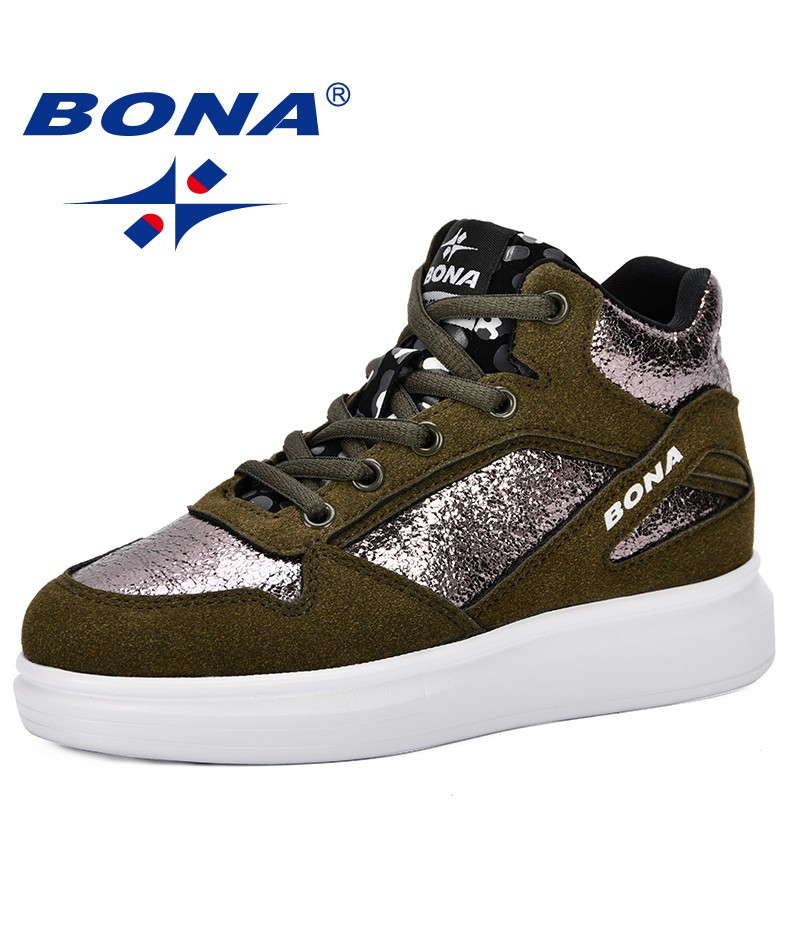 BONA 2019 Spring New Popular Style Children's Shoes Boys Girls Sneakers Shoes Soft Bottom Shoes Sports For Kids Comfortable