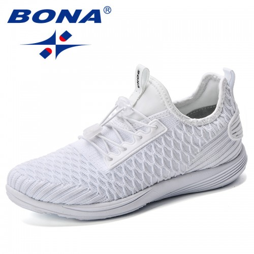 the best attitude online here quality design BONA 2019 Spring Autumn Women Casual Shoes Comfortable Platform Shoes Woman  Sneakers Ladies Trainers Chaussure Femme Footwear