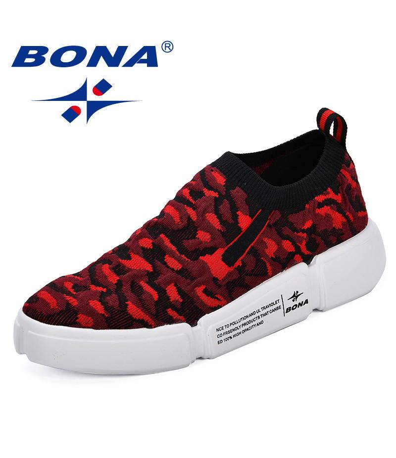 BONA Women Shoes Designer Breathable Summer Casual Shoes Outdoor Walking Sneakers Shoes Woman Flats Lace Up Women Tenis Feminino