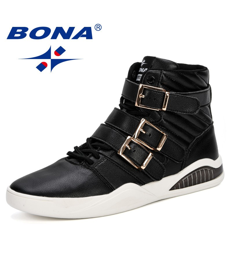 BONA 2018 High Quality Winter Microfiber Men Shoes Brand New Designers Men Boots Casual Male Boots Ankle Boots For Men Trendy