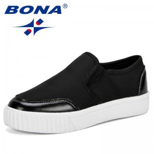 BONA Children Shoes New Spring Autumn 2019 Fashion Sport Girls Shoes Soft Breathable Running Boys Sneakers Non-Slip Comfortable