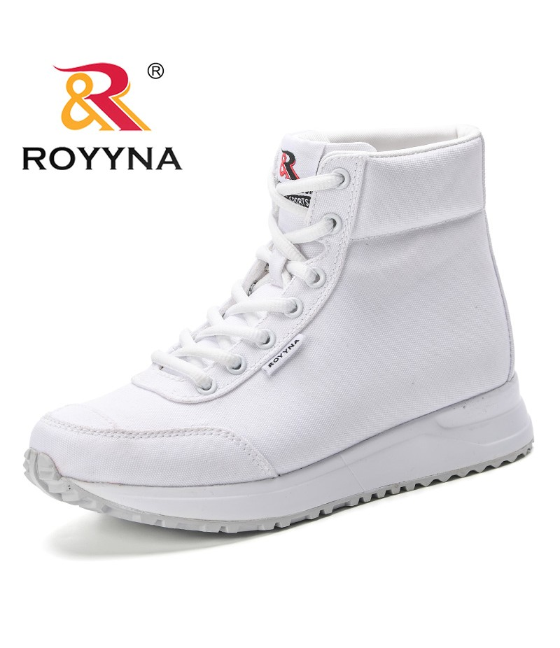 ROYYNA New Arrival Women 2019 Spring & Autumn Boots Synthetic Lace-up Casual Fashion Trendy Boots Footwear Shoes Mujer Booten