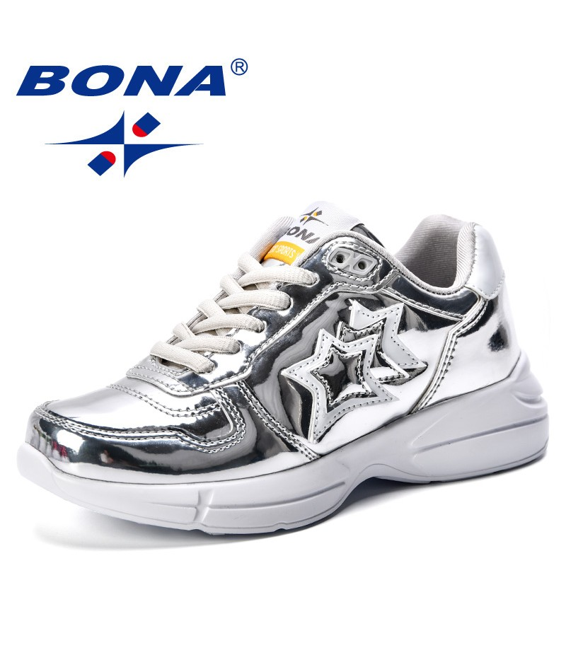 BONA 2019 Spring Autumn Children Shoes Boys Sports Shoes Fashion Brand Casual Breathable Outdoor Kids Sneakers Boy Running Shoes