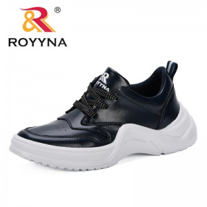 ROYYNA 2019 New Popular Fashion Casual Shoes Woman Comfortable Breathable Flats Female Platform Sneakers Chaussure Femme Trendy