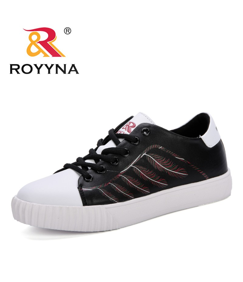 ROYYNA Sneakers 2019 Fashion Breathble Vulcanized Shoes Platform Lace Up Casual Comfortable Tenis Feminino Zapatos De Mujer