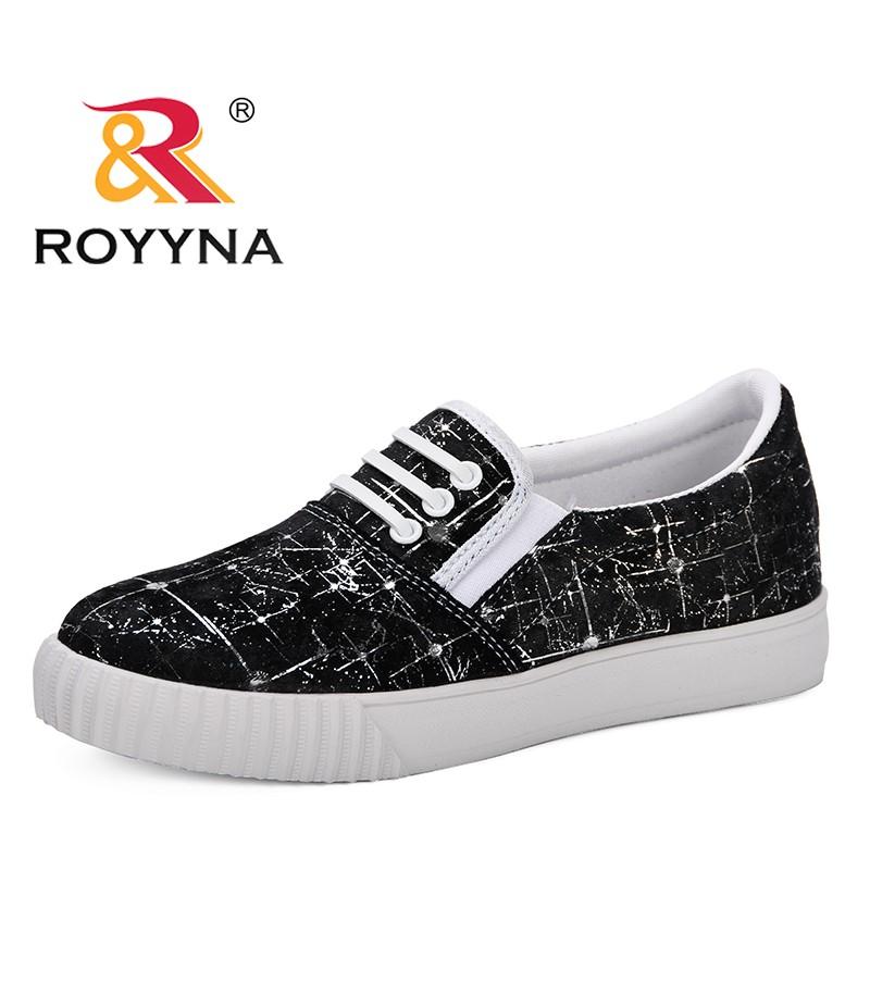 ROYYNA 2019 Spring Fashion Breathble Vulcanized Shoes Women Platform Slip-On Casual Comfortable Tenis Feminino Zapatos De Mujer