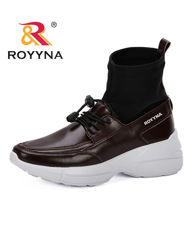 ROYYNA 2019 Sneakers Shoes women New Fashion Women Casual Shoes Trends Female Flats Platform Spring Autumn Elastic Shoes Woman