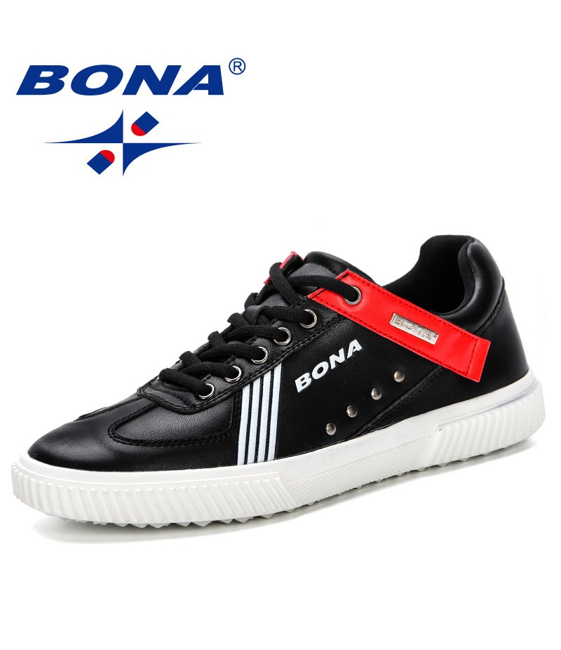 BONA 2019 New Style Men Casual Shoes Outdoor Trainers Men Sneakers Shoes Comfortable Chunky Shoes Chaussures Homme Male Footwear