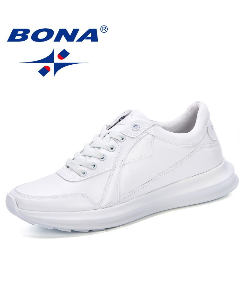 BONA 2019 Spring Autumn Fashion Breathable Chaussures Homme Casual Men Shoes Male Shoes Tenis Masculino Adulto Sneakers Trendy