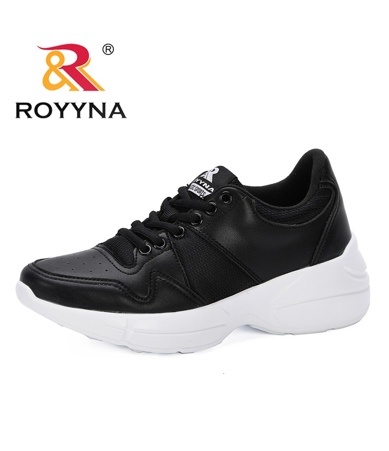 ROYYNA 2019 New Sneakers Women Vulcanize Shoes Fashion Women Leisure Shoes Outdoor Casual Women Shoes Lace Up Ladies Shoes Comfy