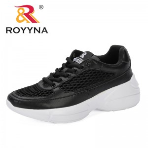 ROYYNA 2019 Hot Sale Summer New Popular Lace Up Breathable Sneakers Women Shoes Comfortable Casual Feminimo Platform Wedge Shoes
