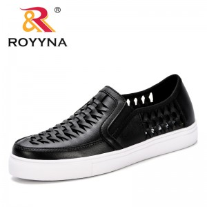 ROYYNA 2019 Summer Sneakers Solid Color Female Shoes Hollowing Out New Trending Style Casual Shoes Flats Shoes Feminimo Footwear