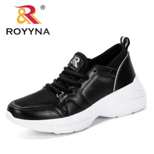 ROYYNA 2019 New Designe Breathable Mesh Women Casual Shoes Vulcanize Female Fashion Sneakers Lace Up Soft High Leisure Footwears