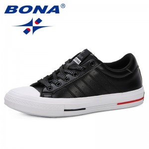 BONA 2019 Spring Autumn New Women Sneakers Shoes Fashion Breathable Platform White Women Shoes Soft Footwears Leisure Shoes Lady