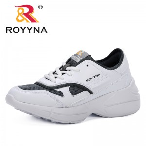 ROYYNA 2019 New Designer Breathable Mesh Women Casual Shoes Vulcanize Female Fashion Sneakers Lace Up High Leisure Footwears