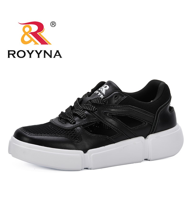 ROYYNA 2019 Summer Casual Women Sneakers Air Mesh Breathable Shoes Flat Platform Hollowing Out Casual Shoes Female Trainers Shoe