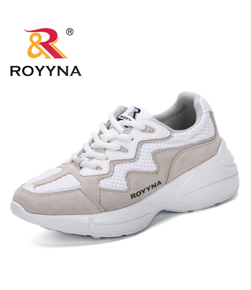 ROYYNA Woman Casual Shoes Breathable 2019 Spring Autumn New Designer Women New Arrivals Fashion Mesh Sneakers Shoes Women Trendy