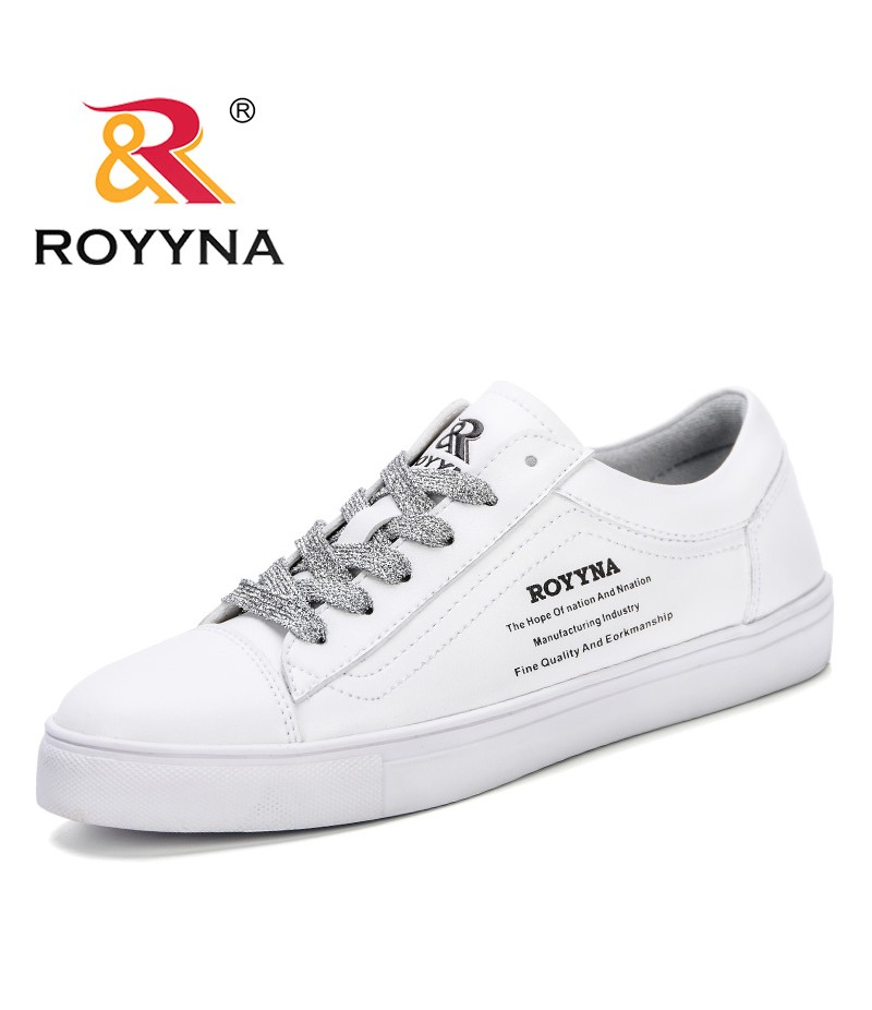 ROYYNA 2019 Spring Autumn White Sneakers Shoes Women Fashion Vulcanize Shoes Feminimo Comfortable Summer Casual Zapatillas Mujer