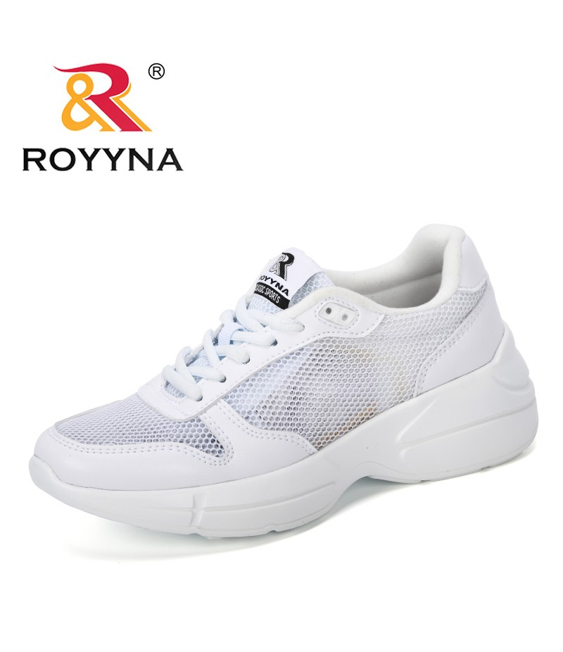 ROYYNA 2019 New Designer Mesh Tenis Fashion Casual Shoes Woman Outdoor Sneakers Woman Flats Female Platform Chaussure Femme Shoe