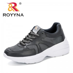 ROYYNA 2019 New Classics Style Summer Sweet Woman Fashion Breathable Mesh Shoes Comfortable Flat Shoes Feminimo Student Shoes