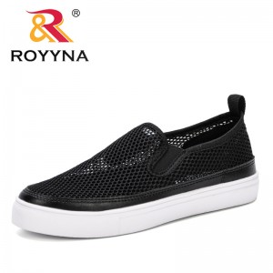 ROYYNA 2019 Spring Autumn Tenis Feminino Lace-up White Shoes Woman Mesh Solid Color Female Casual Women Sneakers Zapatos Majer