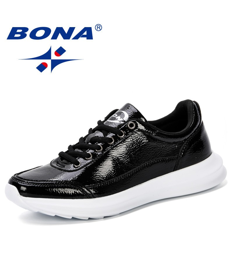 BONA 2019 Spring Autumn Casual Shoes For Men Sneaker Shoes Lace-Up Flats Leisure Anti Slippery Shoes Man Walking Shoes Trendy