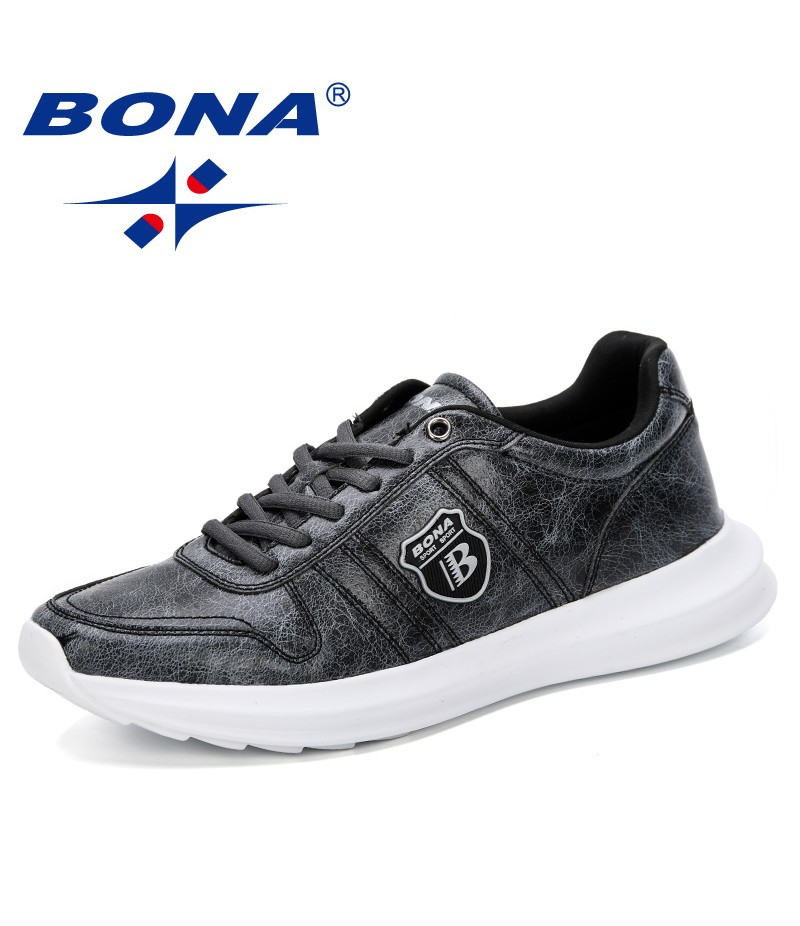 BONA 2019 Loafers Shoes Men Casual Shoes Spring Autumn New 2019 Breathable Fashion Soft Flat Driving Shoes Man Leisure Fooware