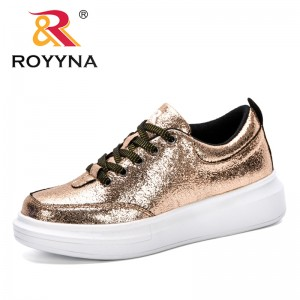 ROYYNA Women Casual Shoes 2019 Autumn Women Sneakers Fashion Breathable Platform Women Shoes Soft Footwears Comfortable Trendy
