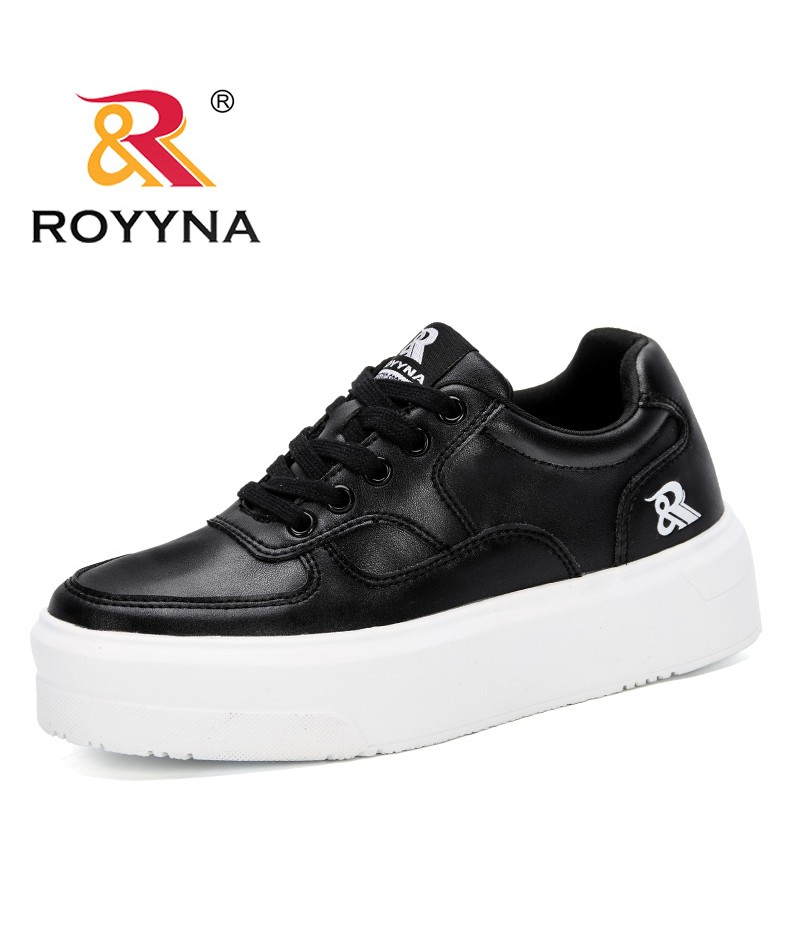 ROYYNA 2019 New Popular Style Women Sneakers Fashion Breathble Vulcanized Shoes Woman Platform Shoes Women Lace Up Casual Shoes