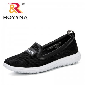 ROYYNA 2019 new Convenient Slip-On Air Cushion Casual Women Shoes Breathable Mesh Female Sneakers Tenis Feminino Leisure Shoes