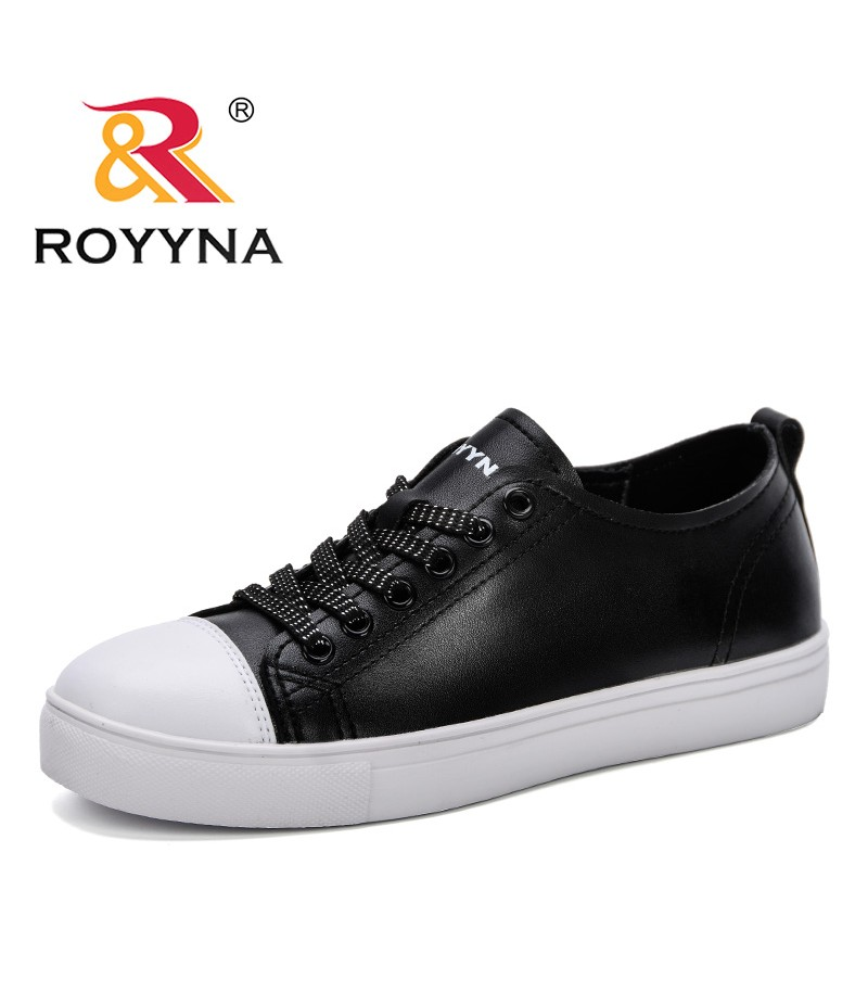 ROYYNA Women Sneakers 2019 New Arrivals Fashion Lace-Up Women Shoes Solid Sewing Women Leisure Shoes Lady Casual Trendy Shoes