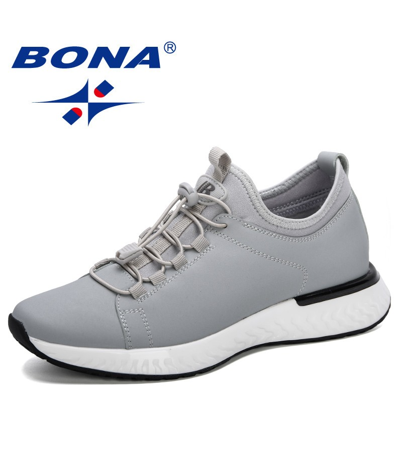 BONA 2019 New Style Men Casual Shoes Outdoor Shoes For Men Loafers Fashion Sneakers Mens Trainers Sapato Masculino Comfortable