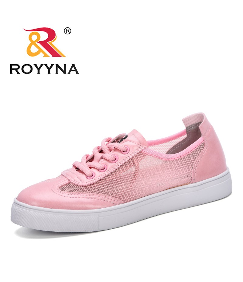 ROYYNA 2019 Breathable Air Mesh Women Casual Shoes Spring Summer Autumn Women Sneakers Shoes Fashion Lace Up Flat Outdoor Shoes