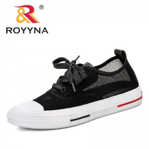 ROYYNA 2019 New Designer Women Outdoor Mesh Solid Shoes Breathable Shoes Trendy Sneakers Sapatilhas Mulher Sapatilhas Normais