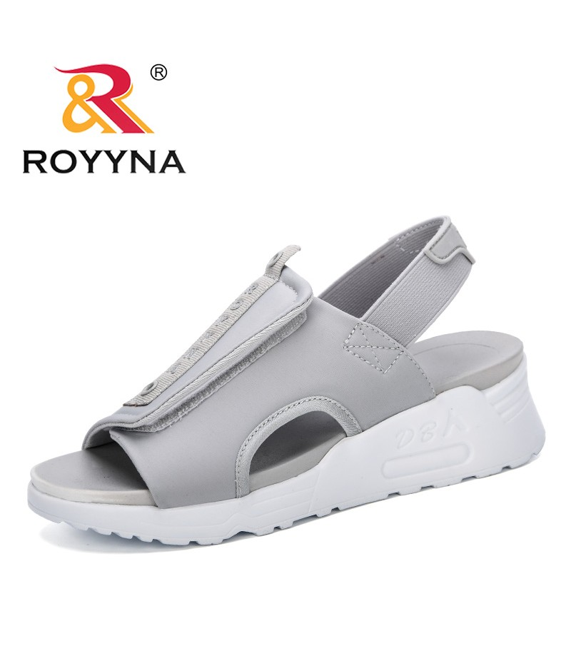 ROYYNA 2019 New Style Summer Women Sandals Casual Peep Toe Swing Shoes Ladies Platform Wedges Sandals Walk Shoes Feminimo Trendy