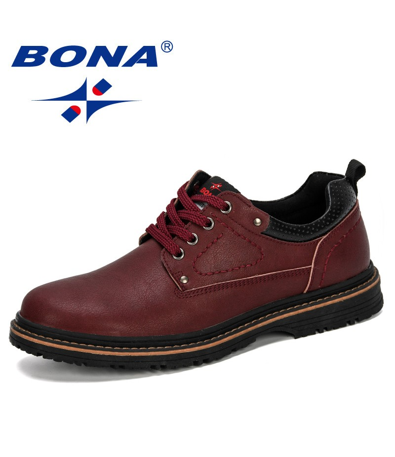 BONA 2019 New Designer Loafers Luxury Brand Men Shoes Fashion Casual Male Shoes Microfiber Shoes Trendy Flat Shoes Comfortable