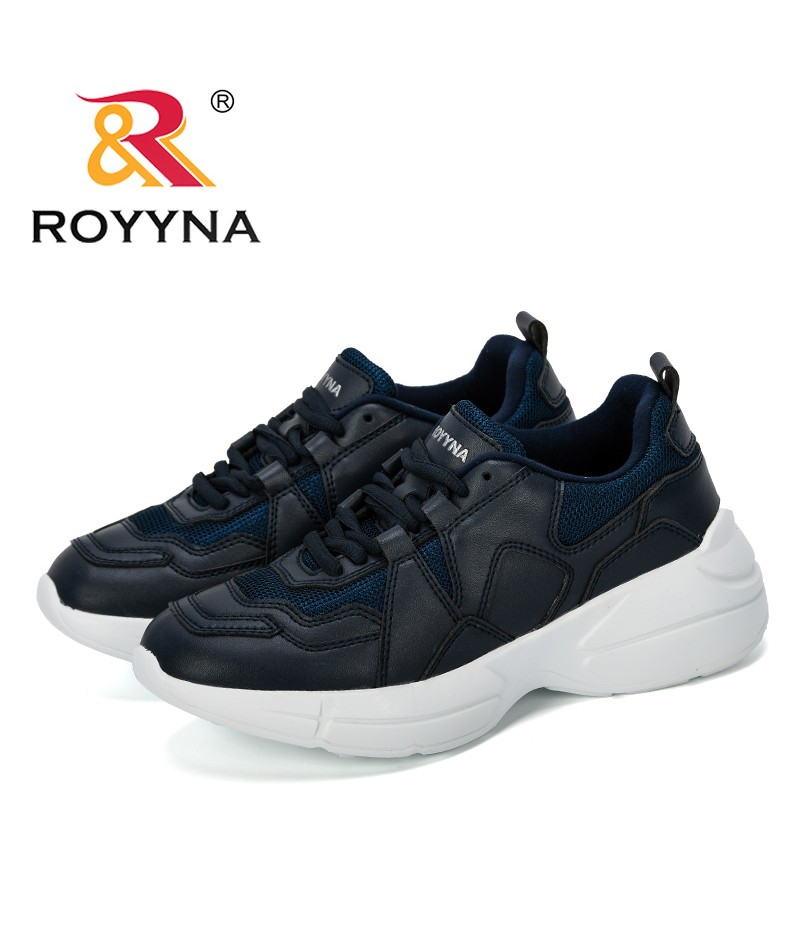 ROYYNA 2019 New Style Sneakers Women Platform Casual Shoes Women Fashion Shoes Femme Outdoor Microfiber Leisure Footwear Ladies